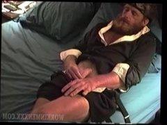 Mature Amateur Richard Jacking Off