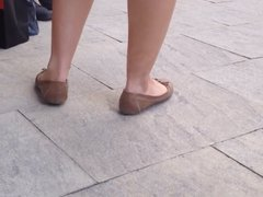 Heel popping with flats
