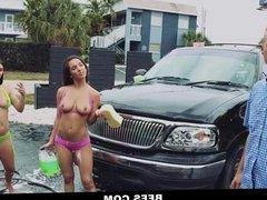 BFFS- Bikini Sluts Share A Cock