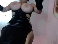 cam white girl with big tits bounce and