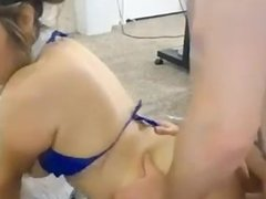 Young couple has sex on cam - youngpussycams . net
