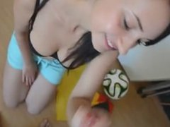 fantastic german teen likes to fuck