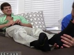 Free movietures of naked men showing feet gay Hunter Page & Cameron