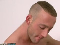 Gay men with big dick in lycra first time His hooded salami is hard