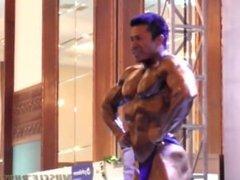 Bubble Ass Indonesia Bodybuilder - Elvis Djery