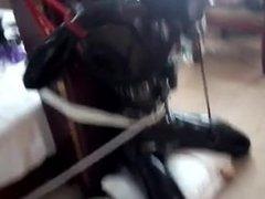 bondage with rubber slave