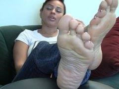Sapphire's Candid Stinky Soles