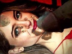 Natalia Dyer Facial Cum Tribute