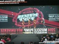Korean FBB Kim JH vs 2 western girls - She did pretty well
