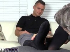 movies home porn gay daddy [feet33.com] Tommy Makes Tenant Worship His