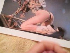 Miley Cyrus Cum Tribute 1