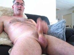 Mark Needham enjoying baring his penis, face, and a great cum shot.