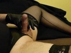 Penis masturbation, orgasm