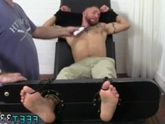 Young studs first gay sex Tino Comes Back For More Tickle