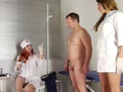 RUSSIAN MEDICAL FEMDOM HANDJOB-0014
