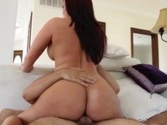 Sexy big tits big ass mexican latina Mackenzee Pierce getting fucked