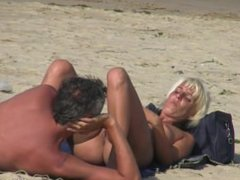 Blonde Milfs Nude At The Nudist Beach Voyeur Hd Video