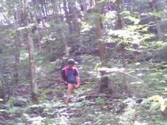 Forest voyeur edging jerk off session #1