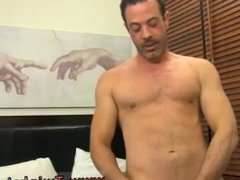 movie of big dick guys with chest hairs gay Mike binds up and blindfolds