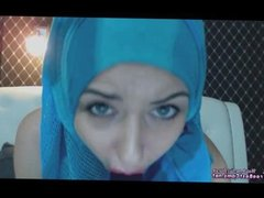 Arab In Burqa Niqab Masturbates Her Arabian Wet Pussy On Webcam