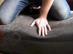 Tickling Girlfriends Feet In Black Nylons