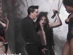 Hardcore lesbian bondage and domination