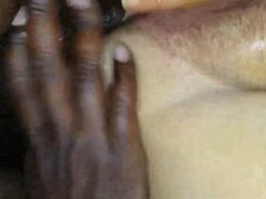 Dripping wet bbw gets a black cock. Cruz from kinkyandlonely.com