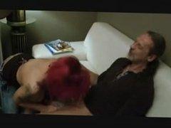 Big tit redhead fucks old man. Drema from kinkyandlonely.com