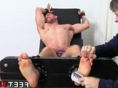 Latino thugs gay sexy feet full length Casey More Jerked & Tickled