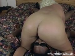 Saggy Tits Claudia Marie Interracial Anal Breeding