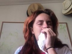 Sneezing at Clips4sale.com