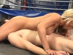 Mixed Wrestling - Her Bitch