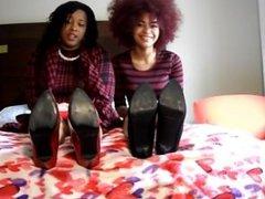 Ebony foot fetish interview