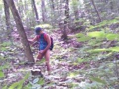 Forest voyeur edging jerk off session #3