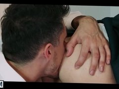 Matt Anders gets his tight hole pounded hard by his boss
