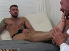 Hot gay toes movietures and sleepy gay feet worship porn Dolf's Foot