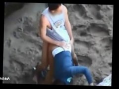 Teens caught fucking in public from above PublicFlashing.me