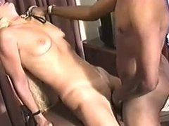Black master's white slut