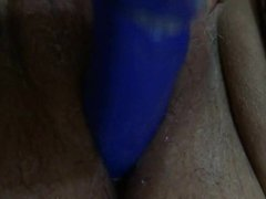 wife enjoy big dildo part 1