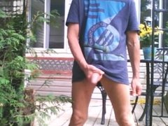 Outdoor afternoon edging session #1