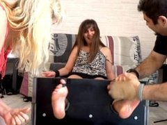 Frenchtickling - Mother Tickles Daughter