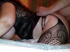 Mouth, tits, pussy, ass, cream pie...