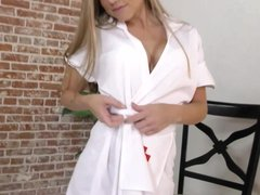 Nurse Shawna Lenee takes care of your cock