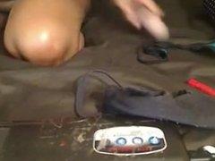 Ebony big tits on webcam