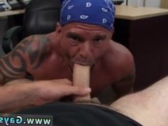 Straight men bet blow jobs gay Snitches get Anal Banged!
