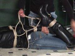 Hogtied in Jeans 4