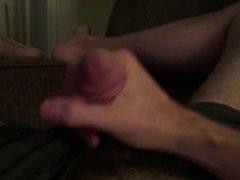 Tugging my cock for ya