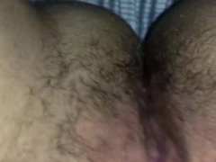Hairy Pulsating Pussy