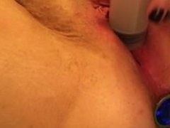 Catheter Play and Urethral Orgasm (80cm of tubing)