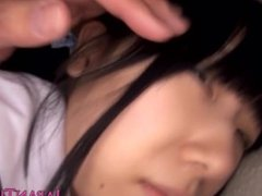 Japanese schoolgirl toyed and fingered